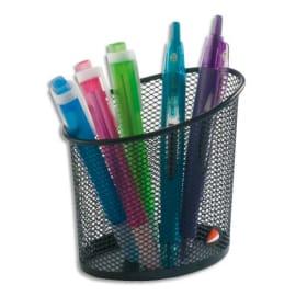 ALBA Pot à crayons en metal Noir MESHCUP N photo du produit