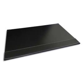 PAVO Sous-main à rabat simili cuir - Dimensions L50 x H35 x P1 cm coloris Noir photo du produit