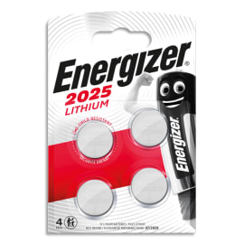 ENERGIZER Blister de 4 piles 2025 Lithium 7638900415360 photo du produit