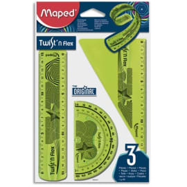 MAPED Kit 3 pièces TWIST 'N FLEX - Coloris assortis photo du produit