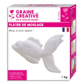GRAINE CREATIVE Boîte de 1kg de plâtre de moulage photo du produit