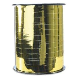 CLAIREFONTAINE Bobine bolduc de comptoir 250x0,7m. Coloris Or métallisé photo du produit