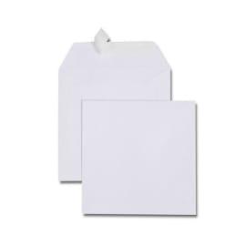 GPV Boîte de 500 enveloppes carrées Blanches 170 x 170 mm 120 g auto-adhesives 4748 photo du produit