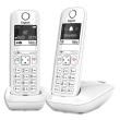 GIGASET Téléphone sans fil AS690 Duo Blanc AS690DUOBLC photo du produit