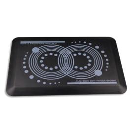 AFS-1EX Tapis antifatigue Noir S2000 en polyuréthane, réduit la pression sur le corps L60 x H1,8 x P40 cm photo du produit