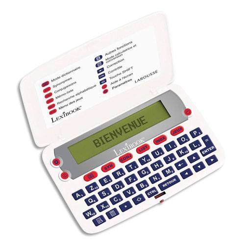 LEXIBOOK Dictionnaire électronique Le Larousse De Poche D850FR photo du produit Principale L