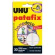 UHU Etui de 32 pastilles PATAFIX Blanche Home Déco résistance 2kg photo du produit