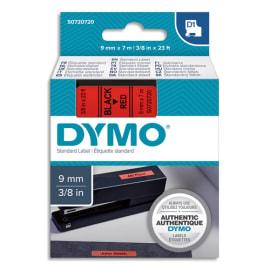 DYMO Ruban D1 Noir/Rouge 9MMX7M pour 1000/1000+/2000/3500/4500/5000/5508 photo du produit