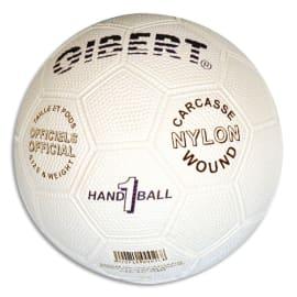 FIRST LOISIRS Ballon de hand, officiel, caoutchouc sur carcasse Nylon, taille 1 = Junior Modèle: Caoutgri photo du produit