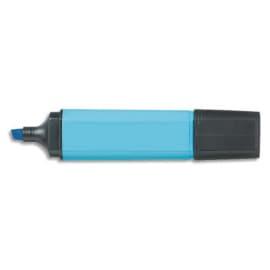 Surligneur pointe biseautée coloris Bleu photo du produit