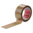 TESA Adhésif d'emballage en PVC colle caoutchouc 52 microns - H50 mm x L66 mètres Havane photo du produit