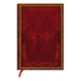 PAPERBLANKS Carnet Reliure Classique à l'Ancienne Rouge Vénitien Ultra 18x23cm 144 pages lignées photo du produit