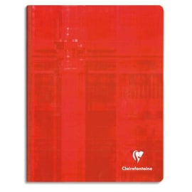 CLAIREFONTAINE Cahier reliure brochure 21x29,7 cm 288 pages petits carreaux papier 90g photo du produit