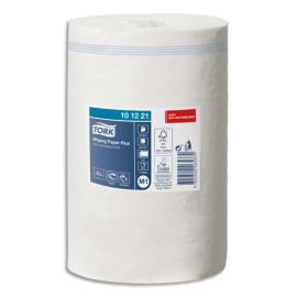 TORK Lot de 11 Bobines papier d'essuyage Plus Mini à dévidage central M1 75m Format 21,5 x 35 cm Blanc photo du produit