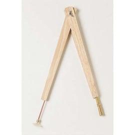 WONDAY Compas à ventouse bois 40 cm photo du produit