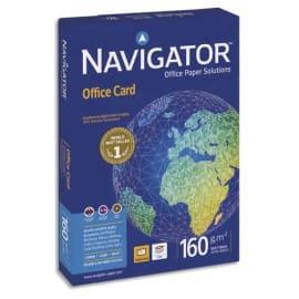 NAVIGATOR Ramette 250 feuilles papier extra Blanc Navigator Office Card A3 160G CIE 169 photo du produit