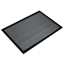 FLOORTEX Tapis d'accueil Valuemat Gris 60 x 80 cm épaisseur 7 mm photo du produit