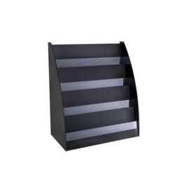 PAPERFLOW Présentoir accueil coloris Noir, 72,8x5, photo du produit