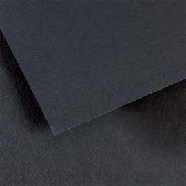 FABRIANO Feuille dessin couleur 50 x 65 cm Tiziano 160g Noir photo du produit