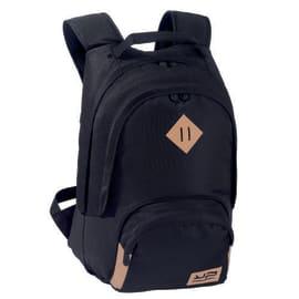 BODYPACK Black Sac à dos 2 compartiment Noir : dimensions : 45x31x23cm photo du produit