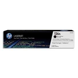 HP Pack de 2 cartouches Laser Noir CE310AD photo du produit