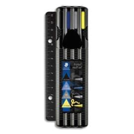 STAEDTLER BlackBox triplus 4 stylos avec règle photo du produit