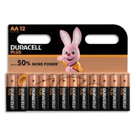 DURACELL Blister de 12 Piles Alcaline 1,5V AA LR6 Plus Power 5000394017825 photo du produit