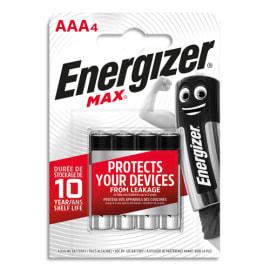 ENERGIZER Blister de 4 piles AAA LR03 max 7638900426687 photo du produit