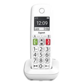 GIGASET Téléphone sans fil E290 solo blanc S30852-H2901-N102 photo du produit
