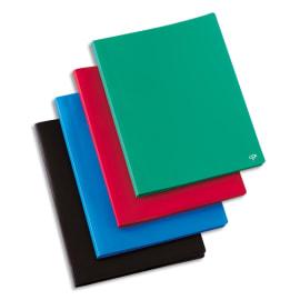 PERGAMY Protège-documents en polypropylène 100vues coloris assortis, couverture 3/10e, pochettes 6/100e photo du produit
