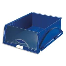 LEITZ Corbeille Sorty format A4 - Bleu - L 28,5 x H 12,5 x P 38,5 cm photo du produit