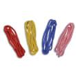 FIRST LOISIRS Lot 4 Cordes à sauter 2 m, en polyester tressé Ø 10 mm, embouts brûlés, coloris assortis photo du produit