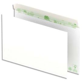 OXFORD Boîte de 500 enveloppes recyclées extra Blanches 90g format C5 162x229 mm photo du produit