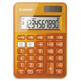 CANON Calculatrice de poche LS-100K MOR Orange 0289C004 photo du produit