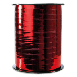 CLAIREFONTAINE Bobine bolduc de comptoir 250x0,7m. Coloris Rouge métallisé photo du produit