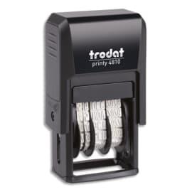 TRODAT Dateur Mini - Printy 4810 à encrage automatique. Hauteur caractères 3.8mm photo du produit