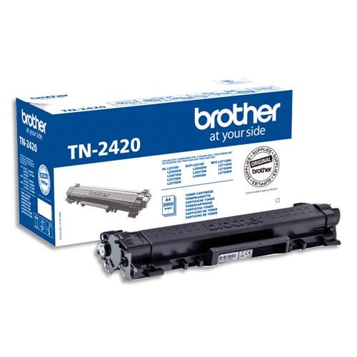 BROTHER Cartouche kit toner Noir 3 000 pages TN2420 photo du produit Principale L