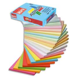 INAPA Ramette 250 feuilles papier couleur pastel ADAGIO Rose pastel A4 160g photo du produit