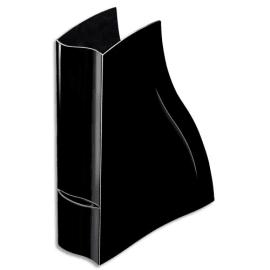 CEP Porte-revues Ellypse en polystyrène - Dimensions : H32,5 x P27,8 cm, Dos 8,3 cm Noir photo du produit