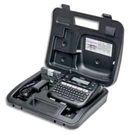 BROTHER Etiqueteuse bureautique avec valise 12mm PT-D210VP photo du produit