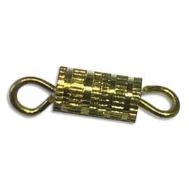 O COLOR Sachet de 10 Fermoires à vis dorés, Longueur 13 mm photo du produit