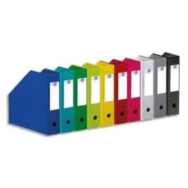 OXFORD Porte-revues en PVC soudé, dos de 7cm 32X24cm, livré à plat. Coloris assortis 10 couleurs. photo du produit