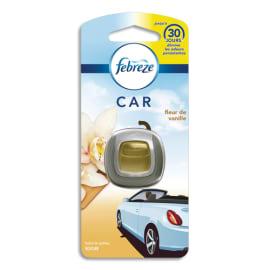FEBREZE Diffuseur pour voiture 2ml, à clipper, jusqu'à 30 jours, parfum fleur de vanille photo du produit