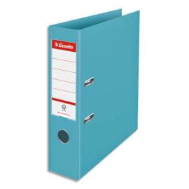 ESSELTE Classeur à levier Colour ice Standard en polypropylène, dos de 7,5 cm. Coloris Bleu photo du produit