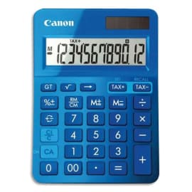CANON Calculatrice de bureau 12 chiffres LS-123K Bleue 9490B001AA photo du produit