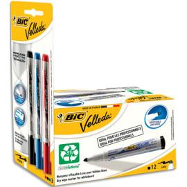BIC Velleda Feutre 1701 pour Tableau Blanc + BIC Velleda Feutre à Encre Liquide - Couleurs Assorties x15 photo du produit