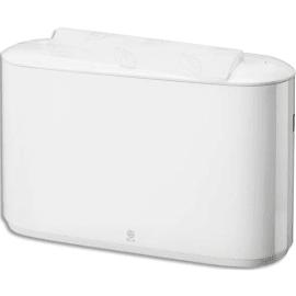 TORK Distributeur portable Xpress pour essuie-mains interfoliés H2 en ABS L32,3 x H21,8 x P11,6 cm Blanc photo du produit