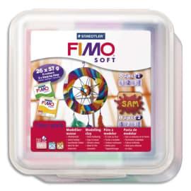 FIMO Atelier comprenant 26 pains 57 g couleurs assorties et 10 outils photo du produit