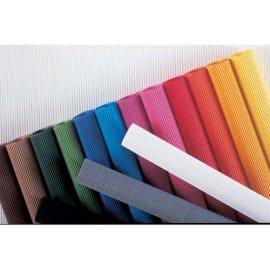 CLAIREFONTAINE Rouleau de carton ondulé 314g 0.5 x 0.7M Rouge photo du produit