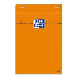 OXFORD Bloc IDEA format 11 x 17 cm 80 grammes réglure 5x5 301205 photo du produit